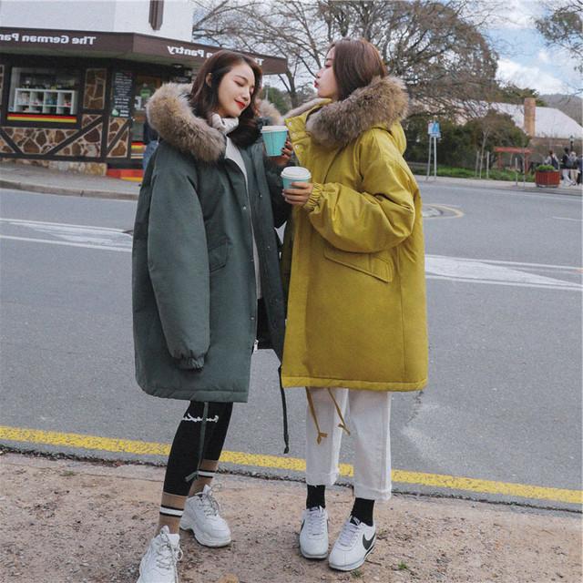 秋冬 ダウンコート ファー襟 フード付き ロングコート レディース コート ダウンジャケット あったか 防寒 アウター ゆったり ビッグシルエット