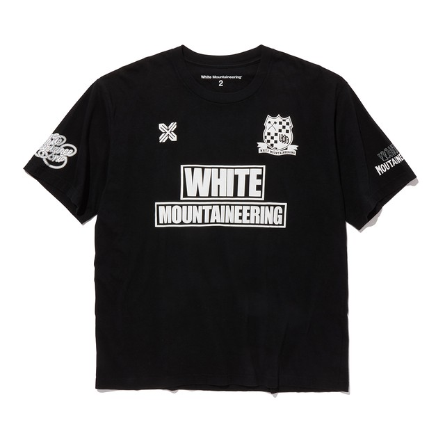 WM FOOTBALL T-SHIRT-BLACK