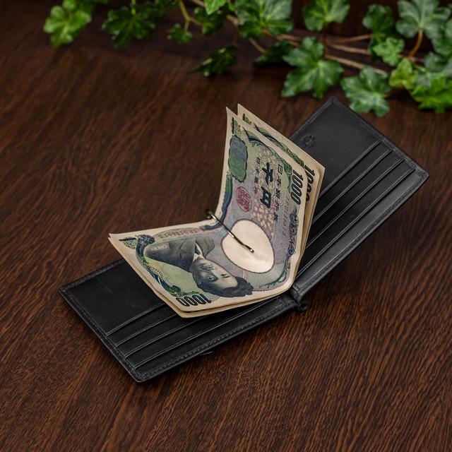 ELA-9030 ラウンド財布 二つ折り
