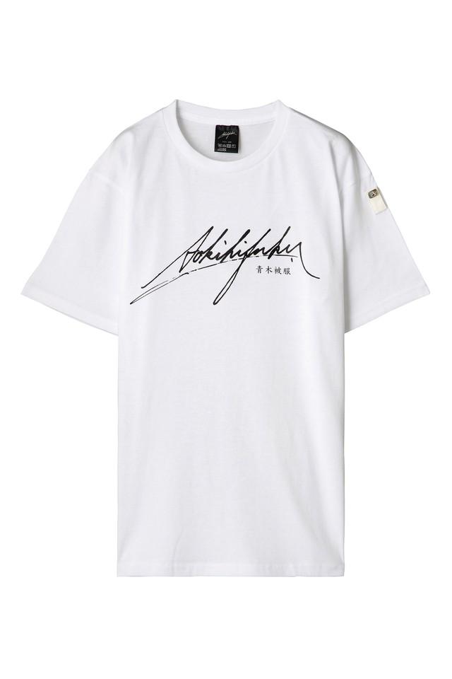 [数量限定] Tシャツ + MASK セット / T1-white & OCEAN blue
