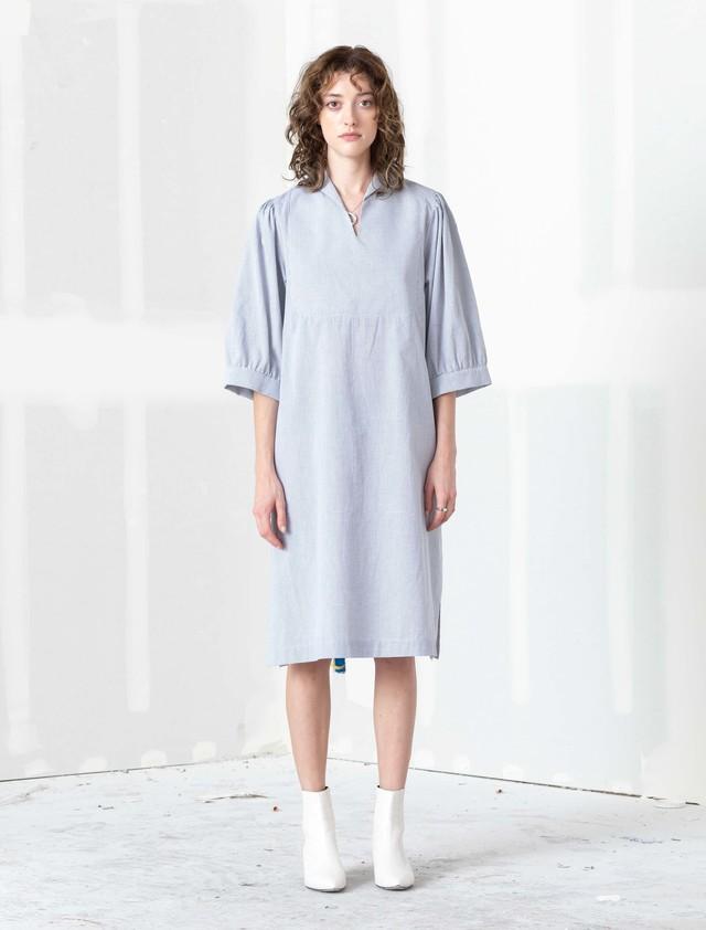 【TOIT VOANT】DOVE TUNIC DRESS:Plaid