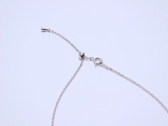 チェーン変更・ロジウムコーティング仕様/silver925