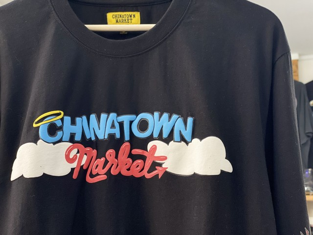 CHINA TOWN MARKET BETTY L/S TEE BLACK XL 22.5JE6401