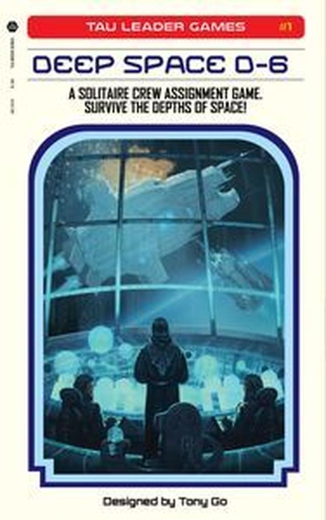 ディープスペース D-6(Deep Space D-6)+拡張「The endless」 和訳説明書・シール付き