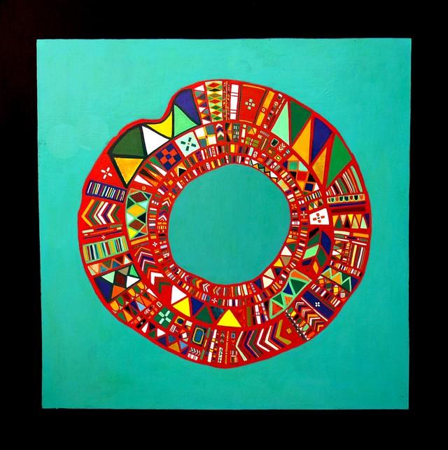 油彩画 | 環