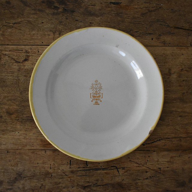 Moustiers Varages plate