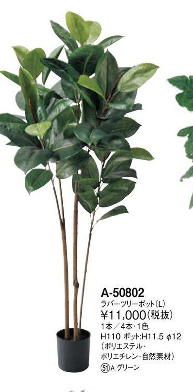 永久の幸せの樹 ラバーツリー 高さ 110cm