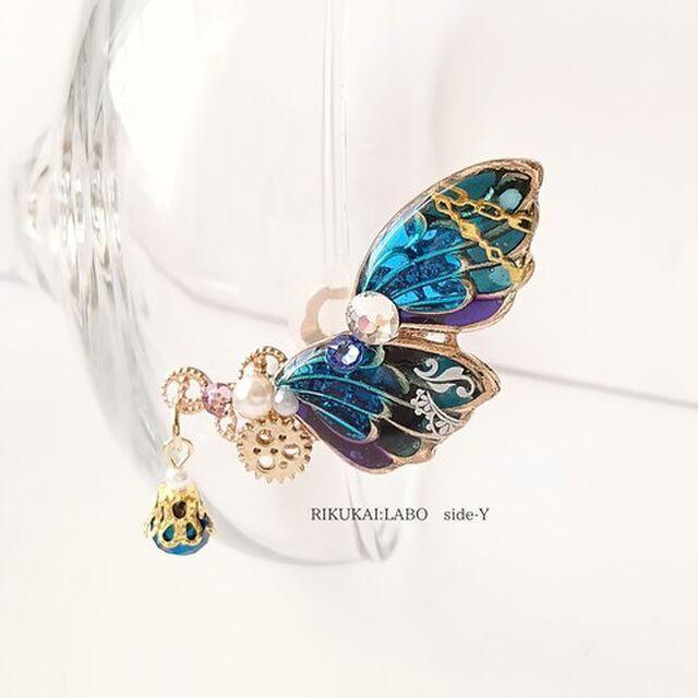 蝶のイヤカフ[332-207/208]