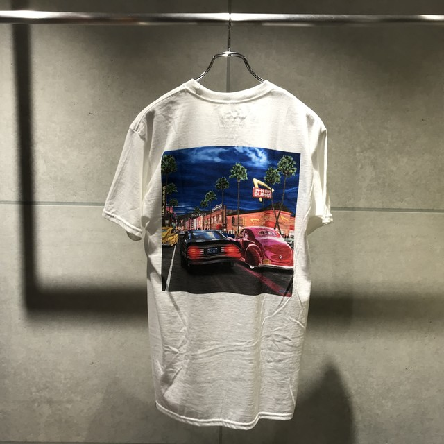 【予約商品】IN-N-OUT BURGER 2018 HOLLYWOOD CRUISING / WHITE