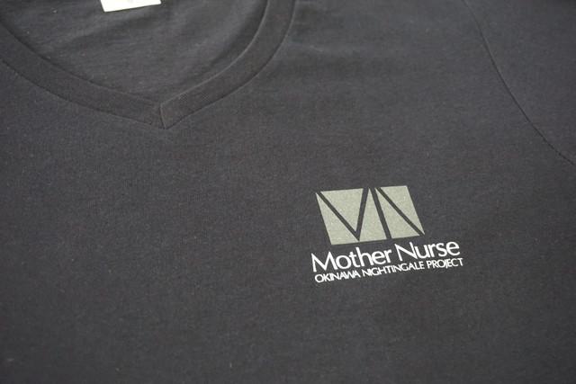 Mother NurseロゴTシャツ Type-B ネイビー