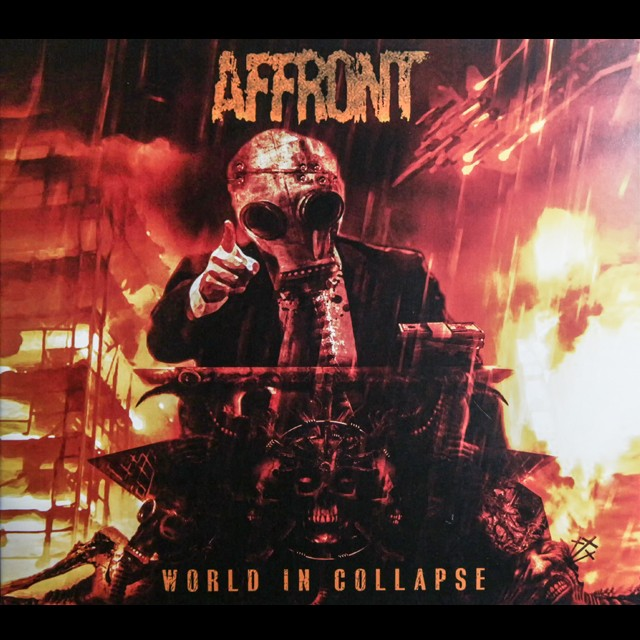 AFFRONT『World In Collapse』CD