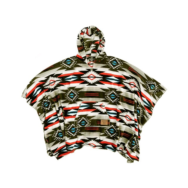 CAPTAINS HELM #Native Poncho