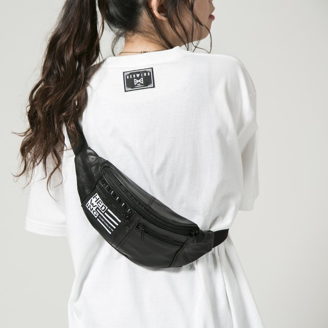 Leather Waist Bag Blackstuds