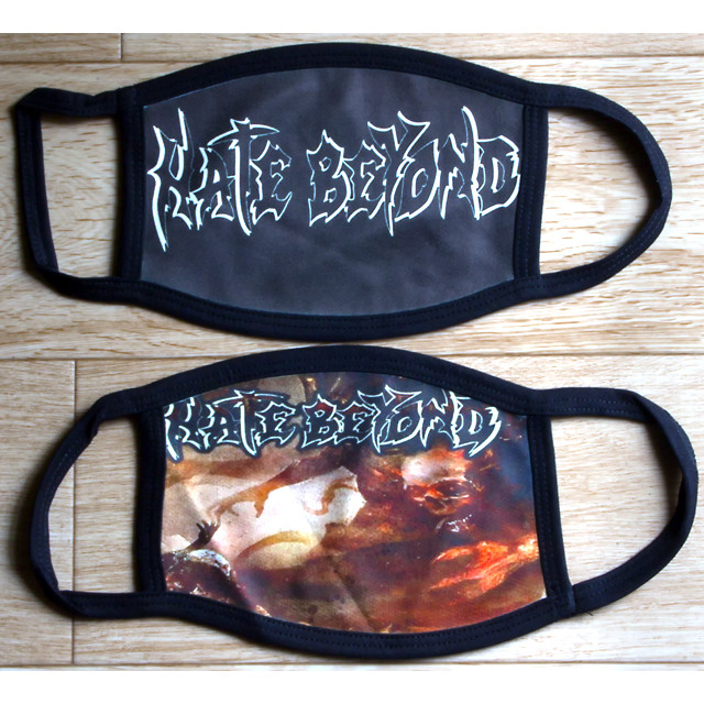 """HATE BEYOND """"Strangled Existence"""" 限定マスク from ニューヨーク"""