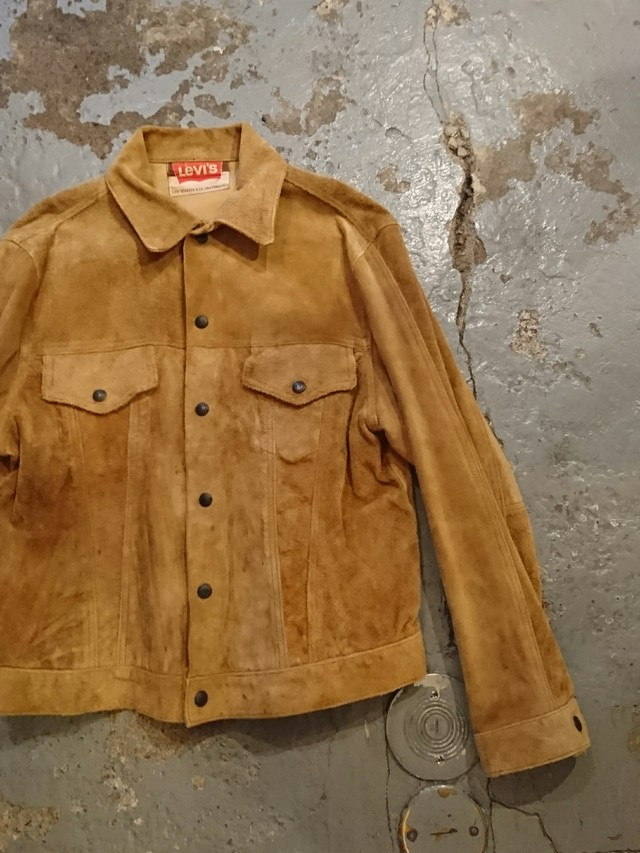 """60s LEVI'S """"70505-9928"""" SUEDE"""