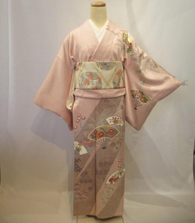 1962京友禅染訪問着と唐織袋帯セット
