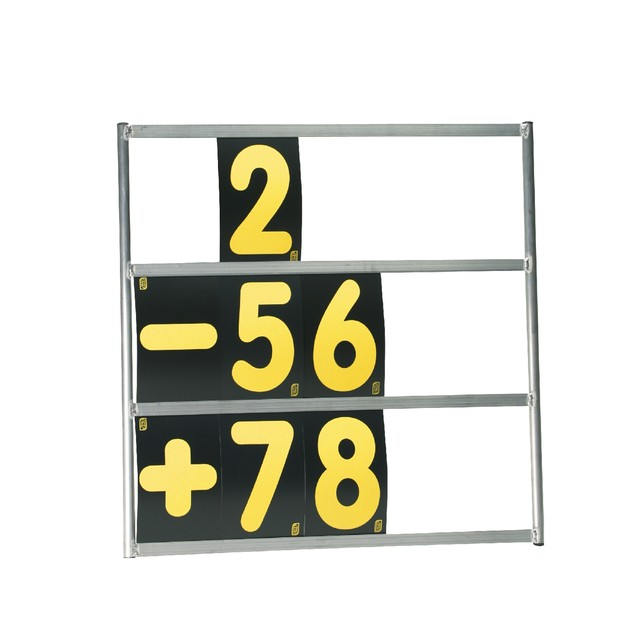 KC/1067  3 row aluminium frame pit board