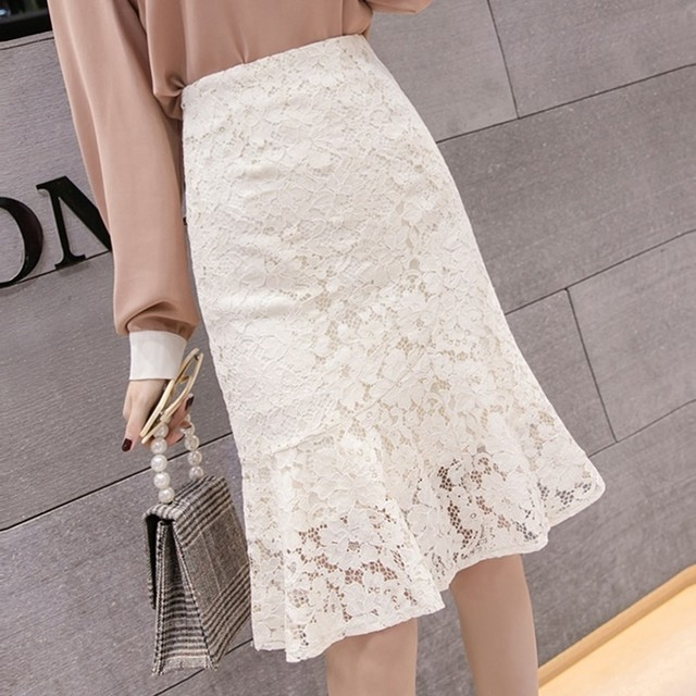 Lace Tight Skirt T554