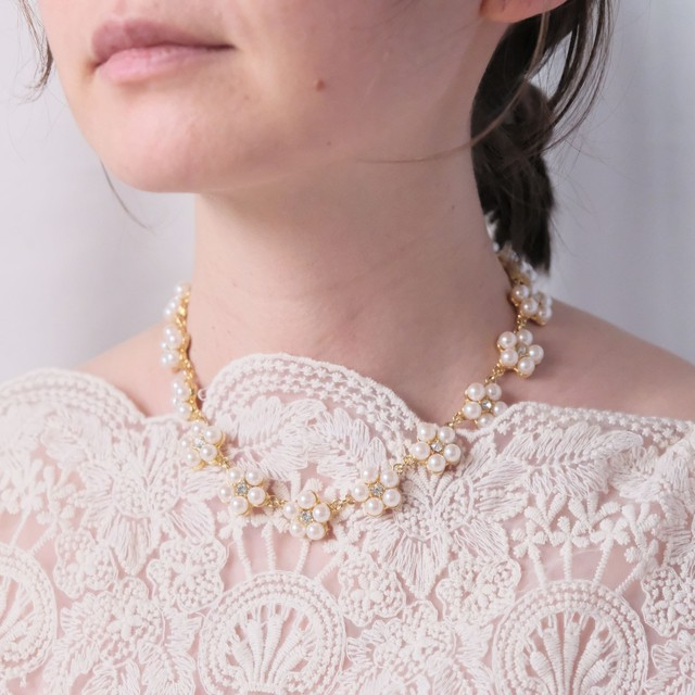 the spring knit + vintage collection: the pearl necklace edition 2 1