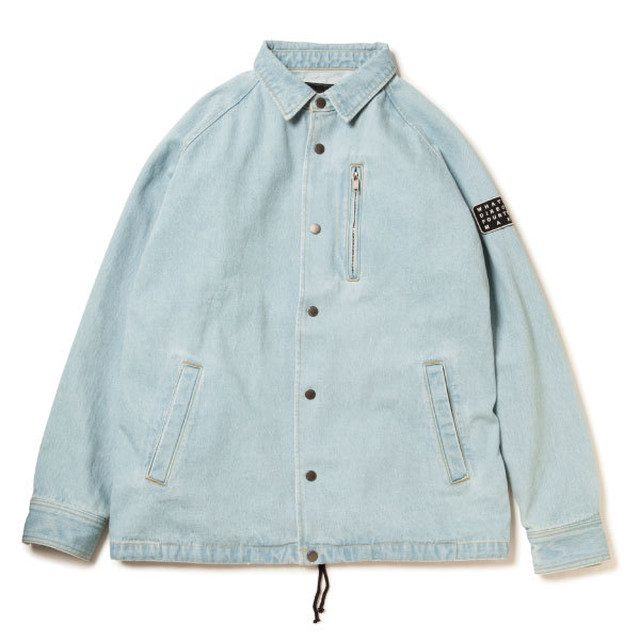 DENIM COACH JACKET  ICE-WASH  サイズ2