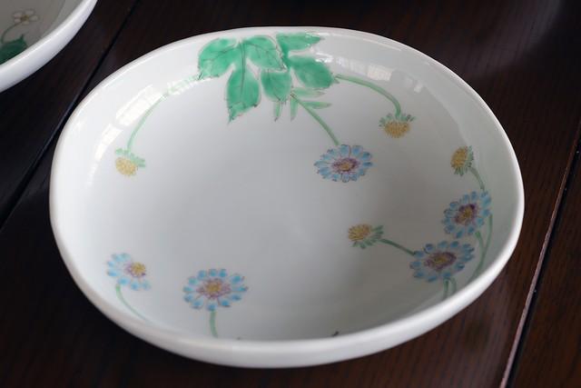 藍水 マツムシソウ 盛鉢 うつわ藍水(波佐見焼)