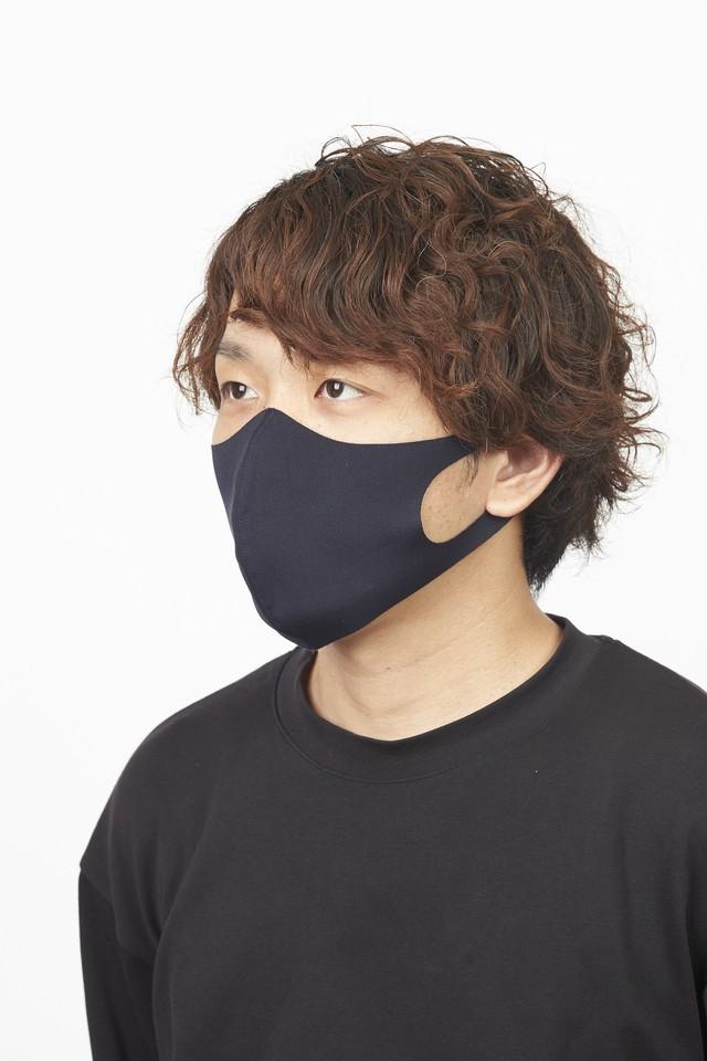 夏用マスク さらピッタ Rサイズ 無地2枚セット 接触冷感・UVカット・吸汗速乾 #107