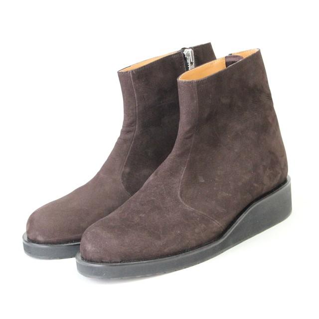 nuback boots/BLK,BRW/l.o.b【受注生産】