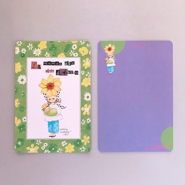 POST CARD「ダリアのママ」no.135
