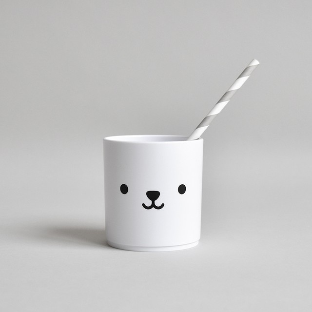 BUDDY+BEAR Bear Tumbler 250ml [white]