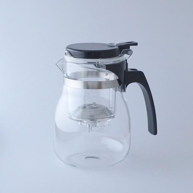 お茶が渋くならないマルチティーポット (耐熱ガラス仕様)