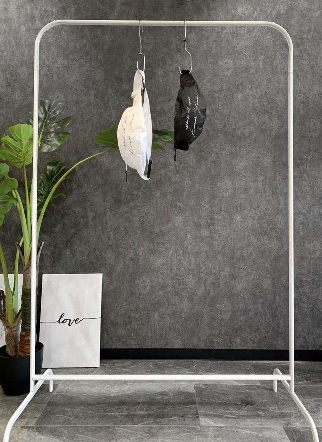 Keisukeyoneda nylon west pouch black