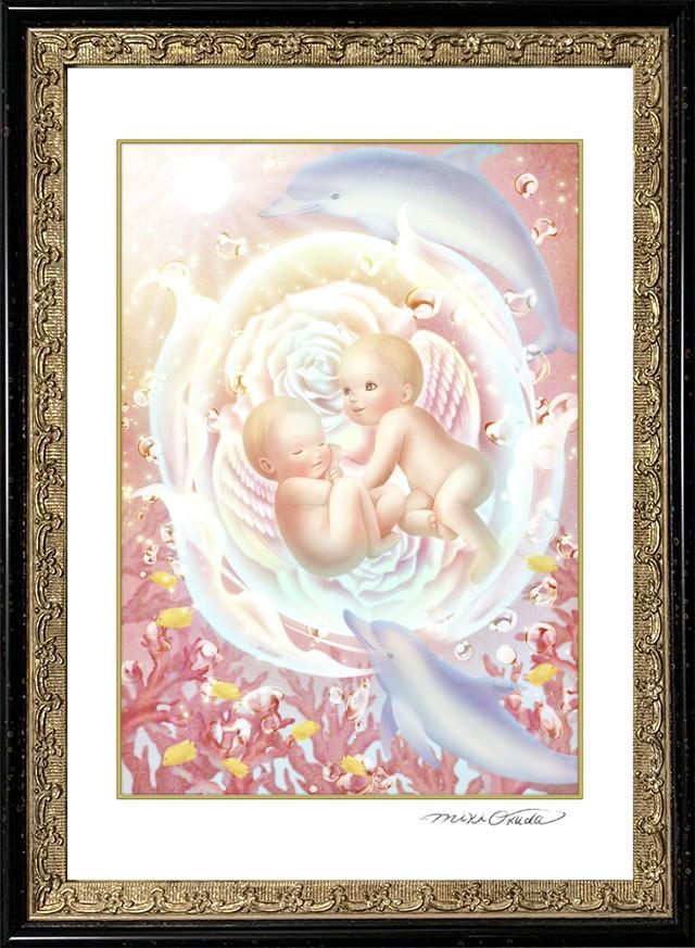 エンジェルプリズムカード・SSサイズ「目覚めの天使」