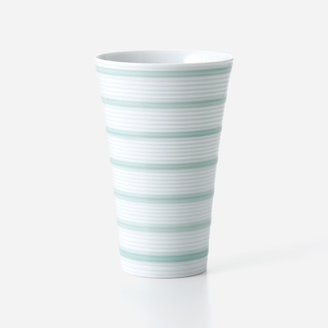 青磁千段 フリーカップ (大)