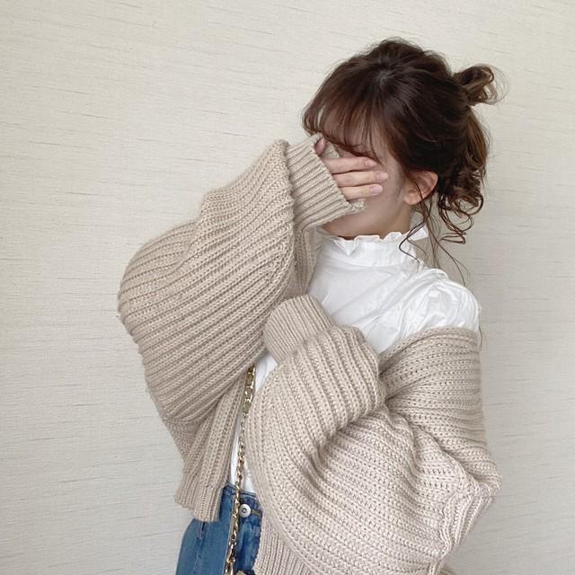 loose cardigan [20F-25] ※受注販売4月中旬〜下旬順次配送予定