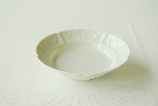 ■柳川謙治  :  陽刻平小鉢
