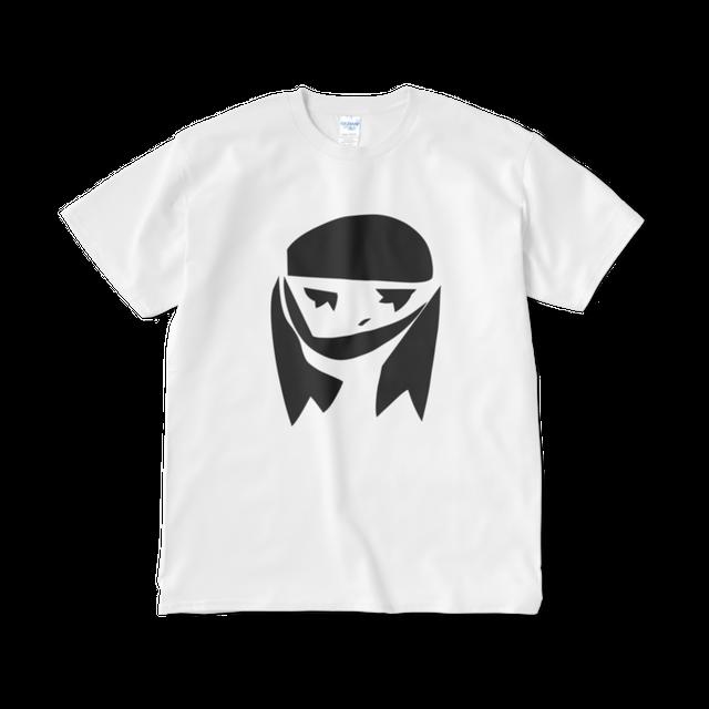 モノクロふきだし子/楽*Tシャツ(短納期)