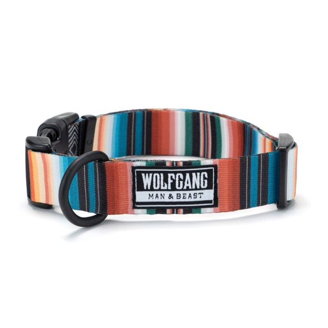 WOLFGANG MAN & BEAST / WildFlower COLLAR ( M size )