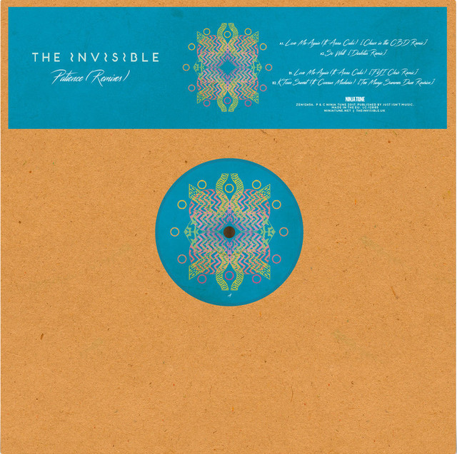 "【12""】The Invisible - Patience (Remixes)"