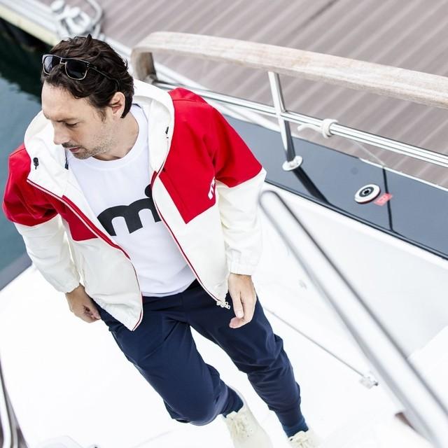 ミストラル メンズ [ HP-DRY 半袖Tシャツ -エムドット- ] WHITE