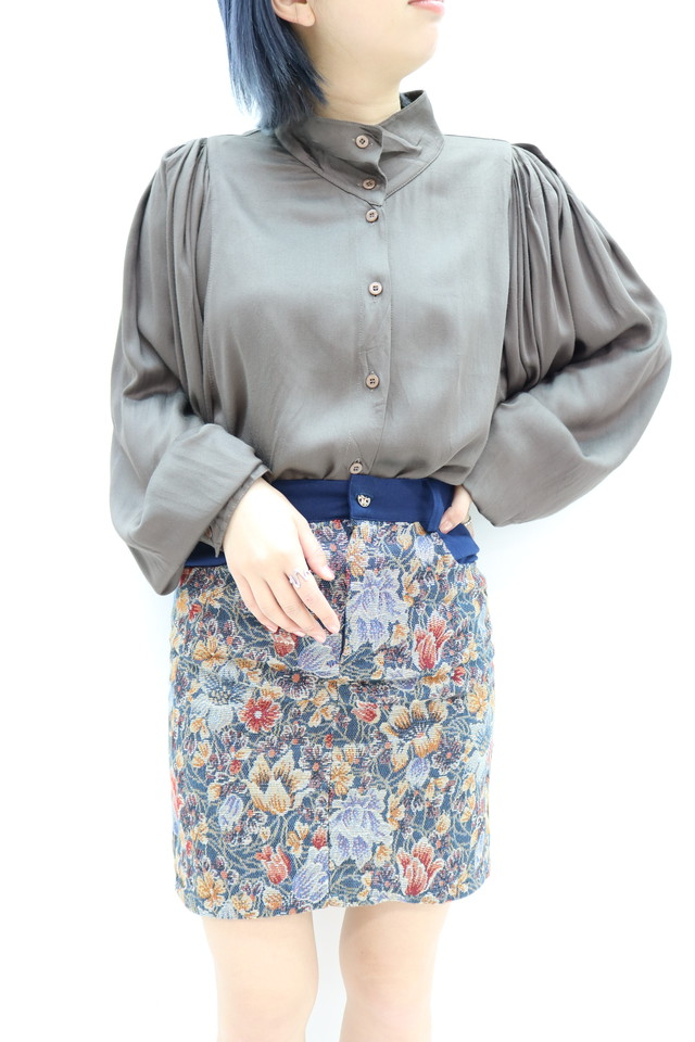 puff sleeve blouse/ BL11120010