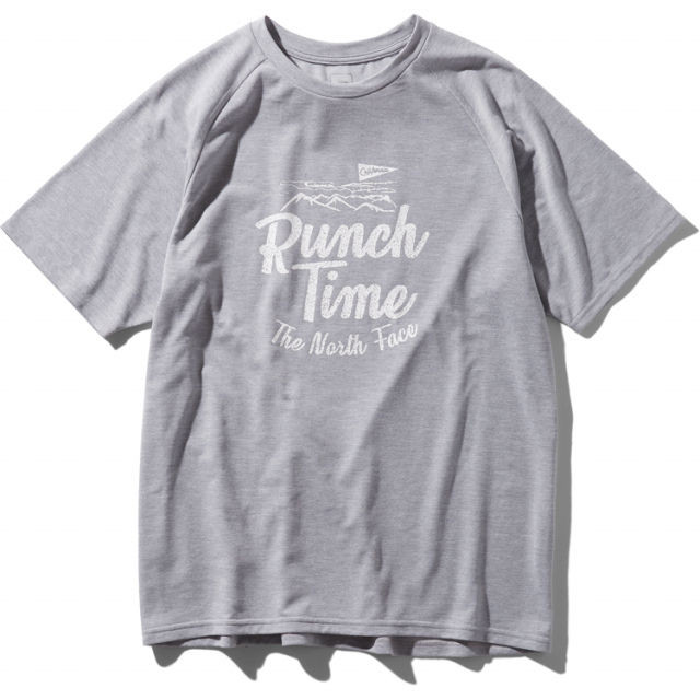 【TNF】 S/S FREE RUN TEE (Mix Gray)