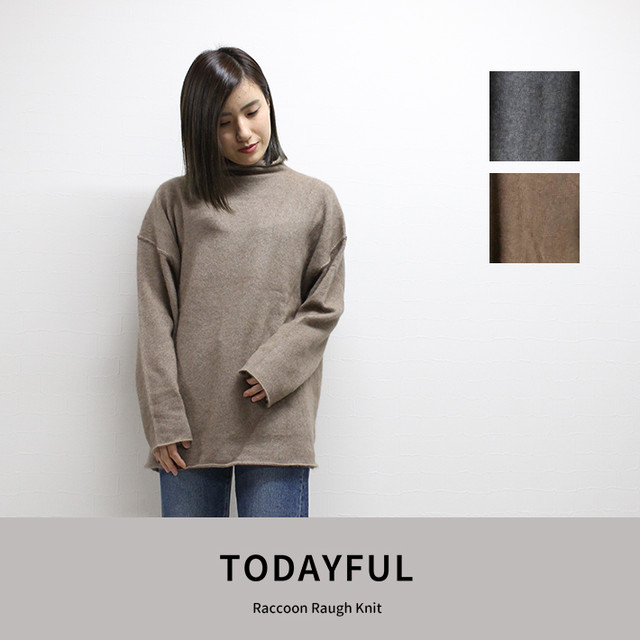 TODAYFUL | Raccoon Raugh Knit  11820557