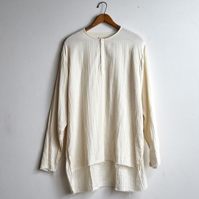suzuki takayuki スズキタカユキ gauze shirt ガーゼシャツ nude (メンズ)