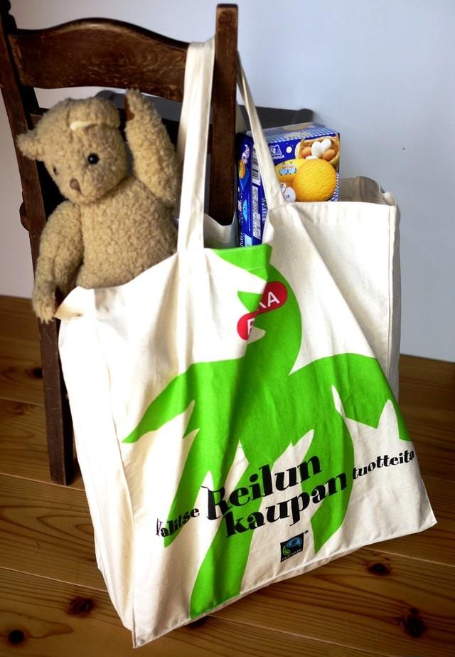 北欧フィンランド pirkka ノベルティエコバッグ ショッピングバッグ お買い物バッグ