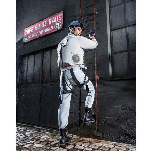 空調風神服 KU95100F フルハーネス用長袖ブルゾン