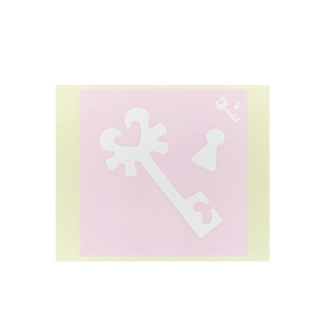 [テンプレートシール]  カギ (10枚入)