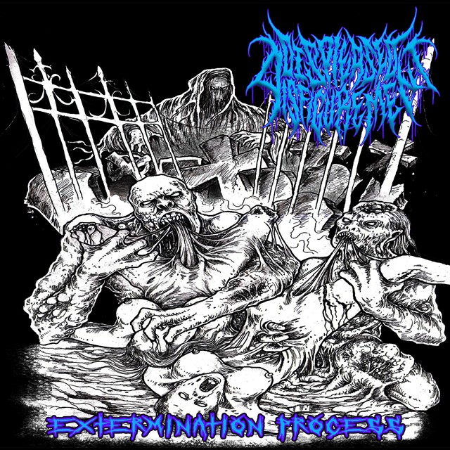 DISPLEASED DISFIGUREMENT『Extermination Process』CD