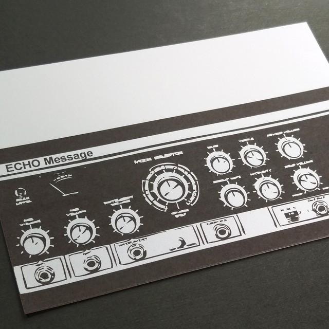 ECHO Message(エコーメッセージ)・シルバー レターセット