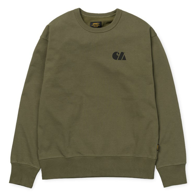 Carhartt カーハート MILITARY TRAINING SWEATSHIRT - Rover Green / Black