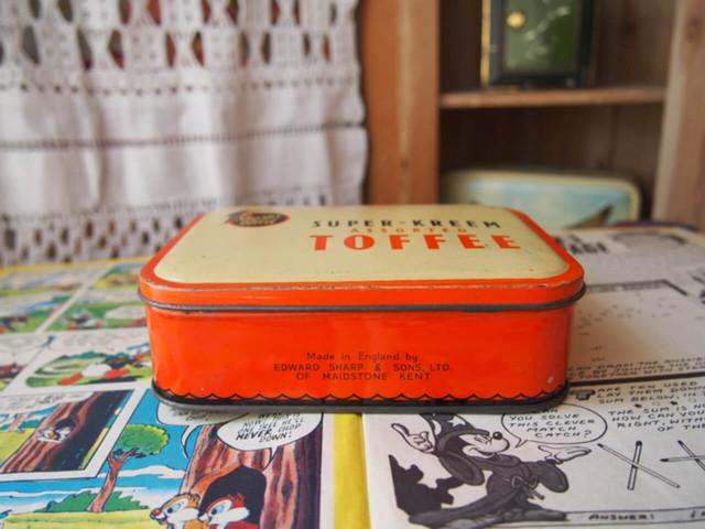 トフィー缶